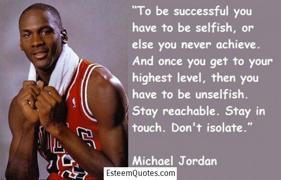 michael jordan don't isolate quote