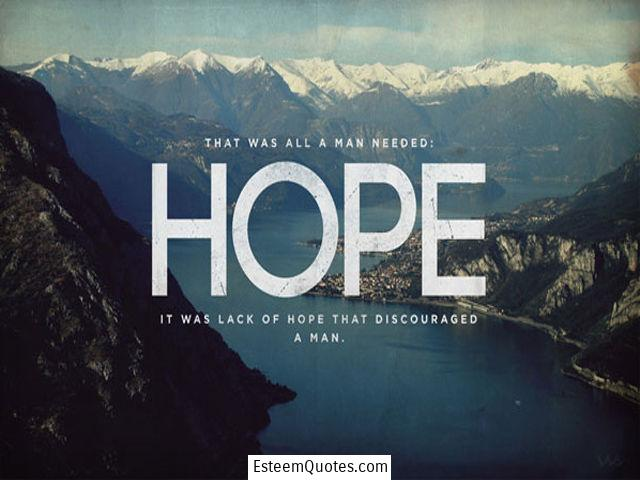 top quotes on hope