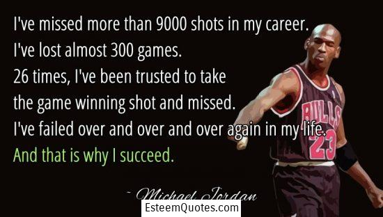 michael jordan why i succeed quote