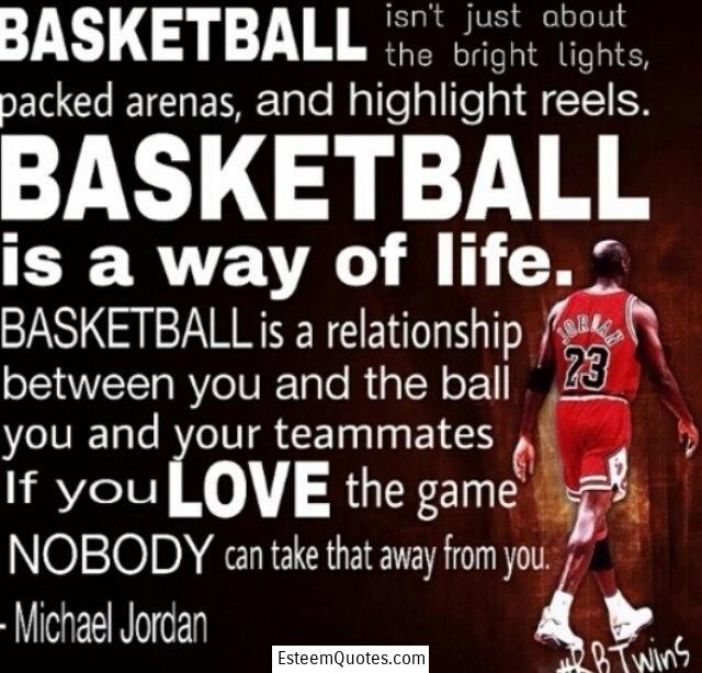 michael jordan basketball love the game quote